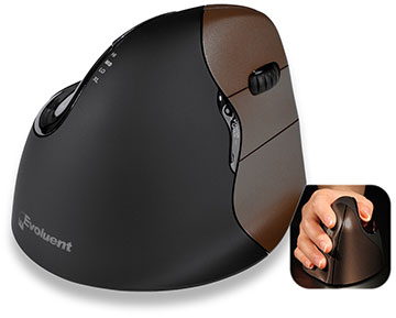 Evoluent VerticalMouse 4 Small Wireless